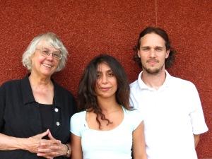 Judy, Adyan, Chris