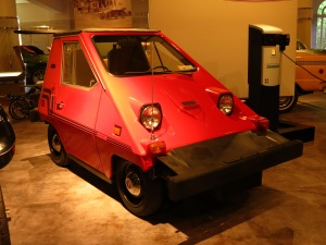 1980 Commuta-car, an electric runabout