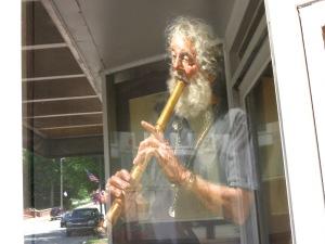 Buchanan Art Museum – painting in window