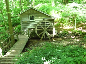 Water Wheel on Wilderness Trail