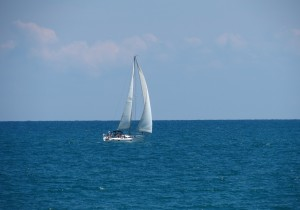 IMG_0811 Sailboat in Lake Huron