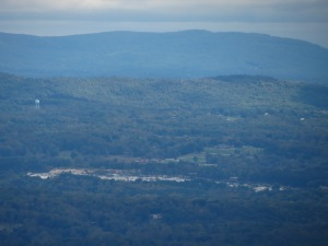 Mt Airy Granite in foreground