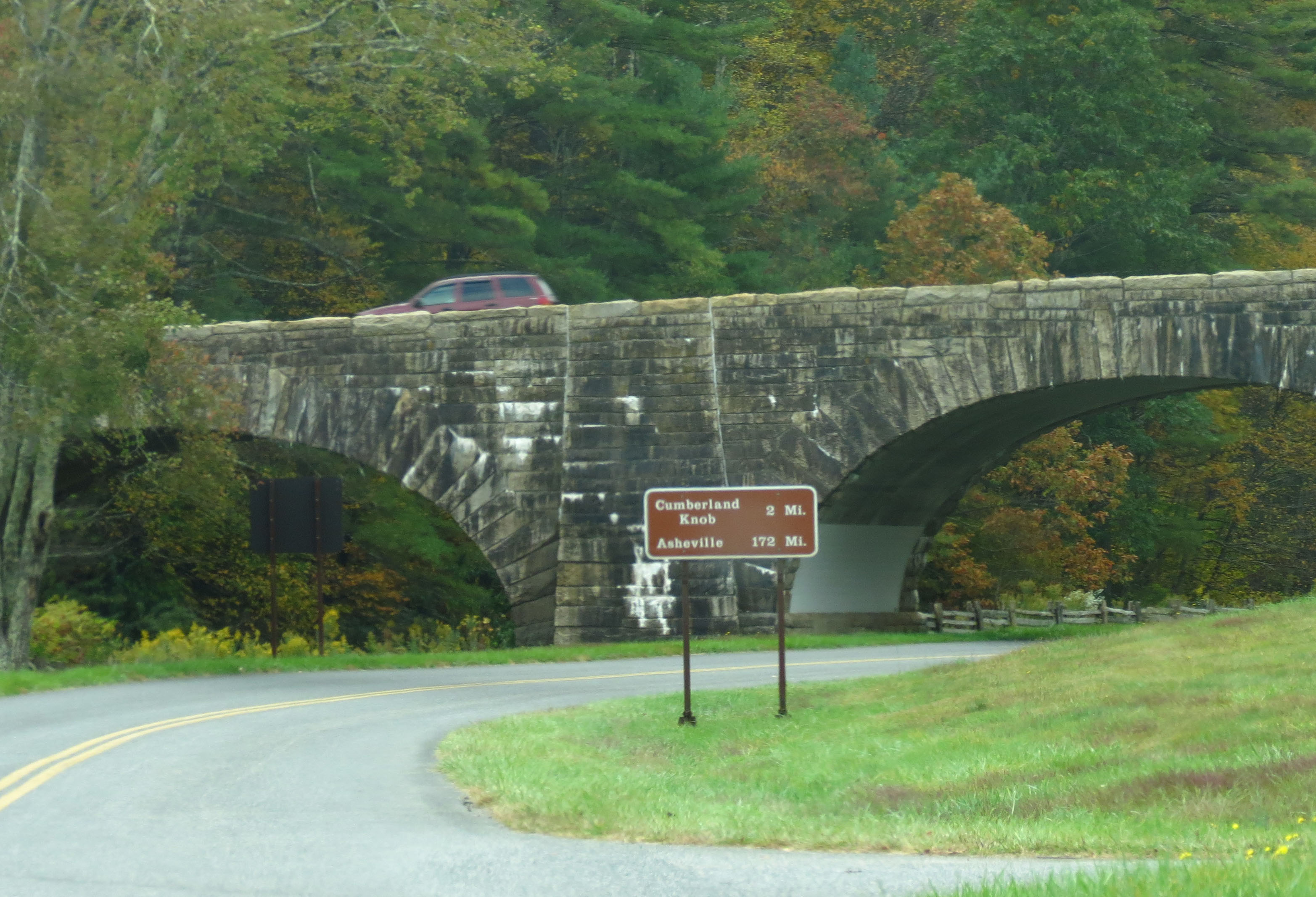 Blue Ridge Parkway In Virginia And North Carolina Tiger