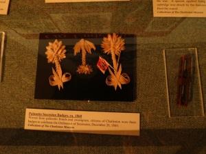 Palmetto Secession Badges, to celebrate Dec 20, 1860