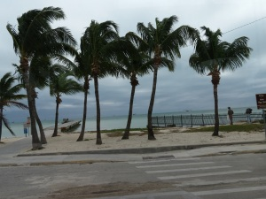 Key West beach view of Florida Straits