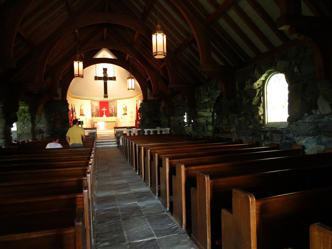 Kennebunkport Ann Episcopal Church And The Bush