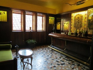 The Tap Room, where John served alcohol he kept in a vault above Mabel's bedroom during the Depression.