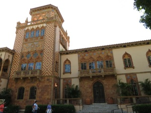Ringling Mansion, CA D'ZAN, the Venetian Gothic Palace on Sarasota Bay