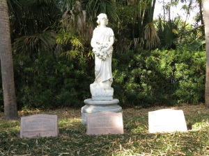 Burial site for John and Mable Ringling