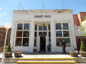 """Florencio Zamora Store (1898), of soft """"pugmill"""" brick"""