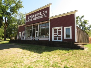 Watson's Store sold hardware, food to settlers; beads and canvas to Nez Perce