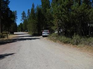 site 1 Dump sign at left