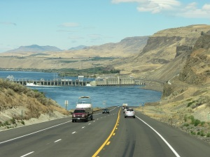 WA 3 Rock Island on Columbia River