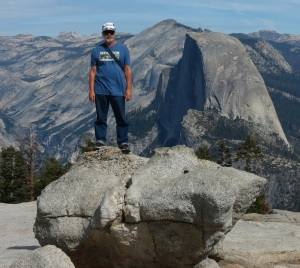 John is as tall as Half Dome!