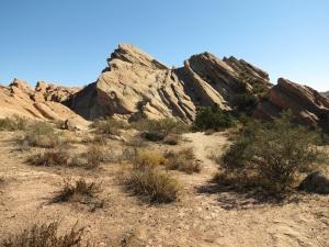 Vasquez Rocks where Vasquez hid