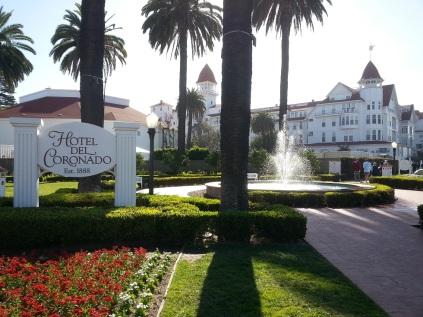 Hotel Del Coronado, established in 1888. Gorgeous.