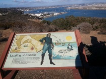JR Cabrillo was the first European to arrive at the west coast in 1542.